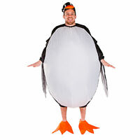Adult Funny Inflatable Zoo Animal Penguin Fancy Dress Costume Outfit Christmas