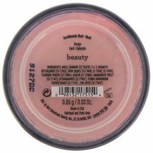 Bare Escentuals BareMinerals Blush BEAUTY 0.85g/0.03oz *New Fast Free Shipping*