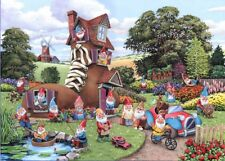 The House Of Puzzles - 500 BIG PIECE JIGSAW PUZZLE - Gnome & Away Big Pieces
