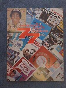 Minnesota Twins Yearbook 1977