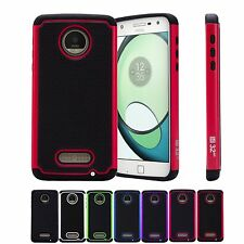 32nd Dual-Layer Shockproof Case Cover for Motorola Moto Z Play