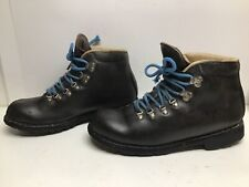 VTG WOMENS MERRELL HIKING DARK BROWN BOOTS SIZE 10 M