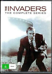 The Invaders Complete Series 12 DVD Box Set Brand New & Sealed Australian Releas