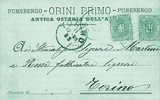 5664) PUMENENGO (BERGAMO) ANTICA OSTERIA DELL'ASINO DI ORINI PRIMO.