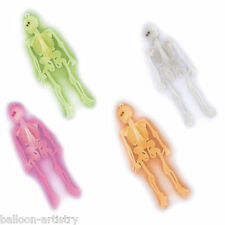 12 Halloween Horror Party Neon Colours Skeletons Loot Gifts Toys Favours
