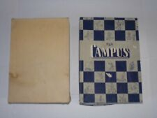 Vintage 1950s CAMPUS SPORTSWEAR Sweater BOX Man Cave THEATER PROP Fab Graphics!