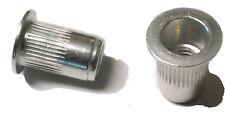 New listing Rivet nuts 10-32 aluminum Buy 3 or More, 10% Rebate (rivnut riv nut nutsert)