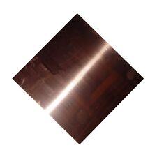 New Copper Sheet 10 X 10 Metal Working 16 Oz 24 Gauge Crafts