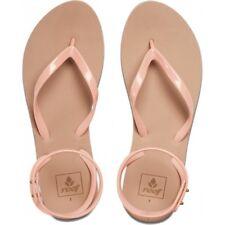 $38 NEW Womens 11 Reef Stargazer Wrap Sandals  Dusty Pink