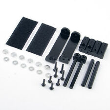 Adjustable Alloy Stealth Shell Stand Mount Bracket + Tape For 1/10 Scale RC Car