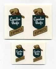 Lincoln Toys Canadian Pacific CP Express Truck Decal Set