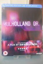 Blu ray steelbook Mulholland Drive U.K Zavvi Exclusive New & Sealed NEUF avec VF