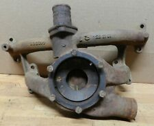 1955-56 Packard Clipper Caribbean ALL V8 used Water Pump back housing 440385