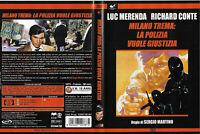 1 DVD FILM POLIZIESCO ITALIANO MOVIE 70-MILANO TREMA LA POLIZIA VUOLE GIUSTIZIA