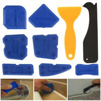 9 pcs Silicone Sealant Spreader Profile Applicator Tile Grout Tools Home Help US
