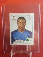Kylian Mbappe France 2018 World Cup Panini Rookie Sticker - Pink Back