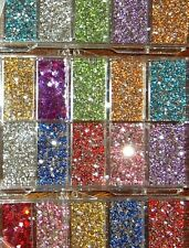 3600 pcs RHINESTONE DIAMONTE CRYSTAL 3D GEM BIG WHEEL for NAIL ART GEL Acrylic