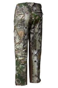 Mens Columbia Trophy Rack Camoflauge Omni Shield Wind Odor Ban Hunting 32 Pants
