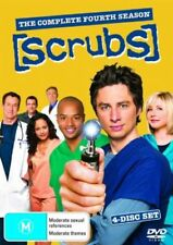 Scrubs : Season 4 (DVD, 2006, 4-Disc Set) Zach Braff