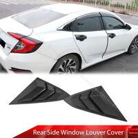 Black Mugen Engine Ignition Start Key Button Cover Ring For Honda Civic 17-19