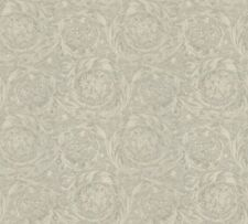 Versace 4 Home Wallpaper 366921 Ornament grau metallic Tapete Vliestapete