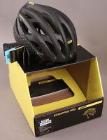 Mavic Echappee Pro Women's Road Gravel Racing Bicycle Helmet After Dark LARGE