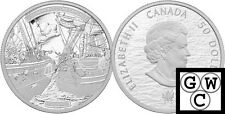 2013 5oz Proof $50 HMS Shannon and USS Chesapeake .9999 Fine Silver Coin (13211)