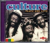 Music CD Culture Peace And Love Reggae Roots Compilation Reissue Sealed Album