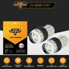 AUXBEAM 3157 1157 T10 LED Turn Signal DRL Parking Backup Light Bulbs 6000K White