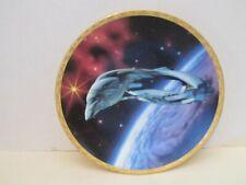 """STAR TREK/Hamilton Collection Romulan Warbird 8"""" Collector Plate w/COA"""