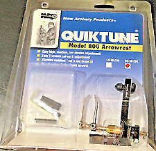New Archery Products Nap Quiktune 800 Arrow Rest Right Hand Easy Tune