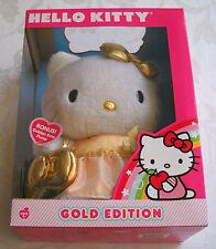 "Sanrio Hello Kitty 50th Anniversary Gold Edition 2010 Plush 12"""