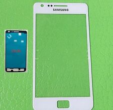 Front Outer Lens Glass touch Screen for Samsung Galaxy S2  I9100 + adhesive
