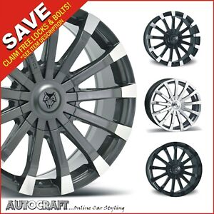 """20"""" RENAISSANCE ALLOY WHEELS + TYRES - VW CRAFTER / MERCEDES SPRINTER LOAD RATED"""