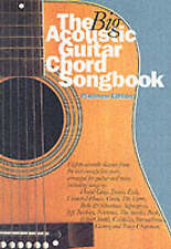 The Big Acoustic Guitar Chord Songbook (Platinum Edition): Platinum Edition by M