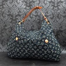 Rise-on  LOUIS VUITTON MONOGRAM Denim Daily GM Blue Shoulder bag Handbag #8