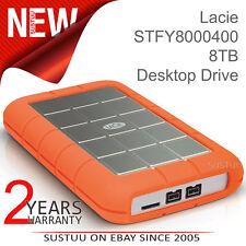 LaCie Rugged Triple 1TB USB 3.0 External Hard Drive/ Disk + FireWire 800│PC/ Mac