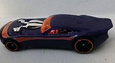 Hot Wheels 2009 Mystery Car 176 Nitro Doorslammer Purple Orange Rims o5/black