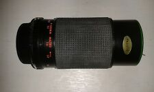 HANIMEX 80 TO 200MM F4.5  AUTOMATIC ZOOM C-MACRO  LENS OLYMPUS OM FIT WITH POUCH