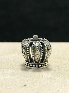 Authentic Pandora Regal Crown Sterling Silver Charm