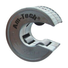 22mm Copper Pipe Tube Cutter Self-Locking Rotary Heavy Duty Cutter Amtech C0265