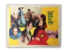 """""""GONE WITH THE WIND"""" ORIGINAL 11X14 AUTHENTIC LOBBY CARD PHOTO POSTER 1954 #18"""