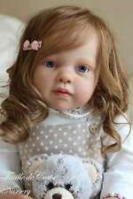 "Louisa By Jannie De Lange New Reborn Toddler Doll Kit @25.5""@Body Included"