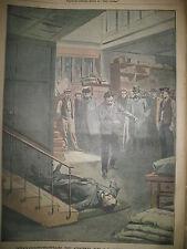 CRIME RUE SAINT-MAUR ITALIE FUSECCHIO BAL INCENDIE LE PETIT PARISIEN 1906