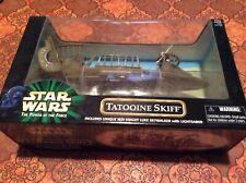 NEW Star Wars Power of the Force Tatooine Skiff With Jedi Luke Hasbro Sealed