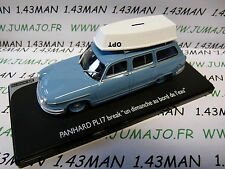 voiture 1/43 ELIGOR : PANHARD PL17 BREAK + bateau