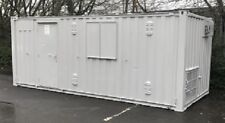 24ft x 10ft Anti Vandal Office & Canteen & Toilet Container  UK Seller