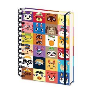 Genuine Animal Crossing Villager Square A5 Wiro Hardback Notebook New Horizons