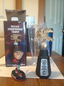 Cleveland Indians American League Trophy , Plus All Star Game Bobblehead