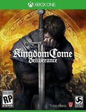 Kingdom Come Deliverance XBOX ONE NEW! REVENGE, KING, RPG QUEST FIGHT OPEN WORLD